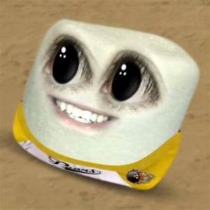 The Cute Eyes of Marshmallow from Annoying Orange ...