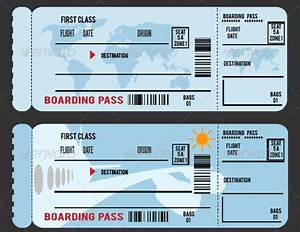26+ Examples of Boarding Pass Designs & Ideas! | Free ...