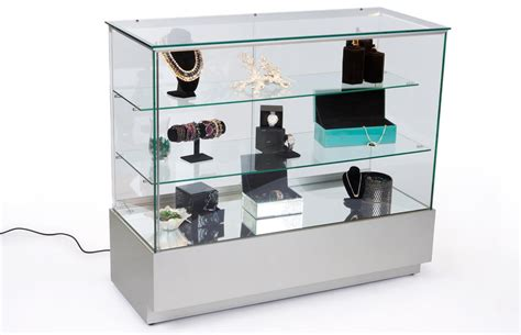Jewelry Display Cases For Sale  Locking Silver & Glass