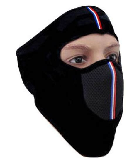 Sunrays Black Face Mask for Bike Riding: Buy Sunrays Black