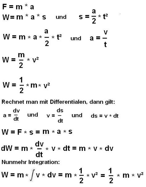 bild formel kinetische energiejpg physik fandom
