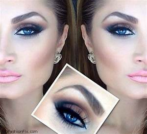 Smokey eyes for blue eyes   the most beautiful [makeup] of ...