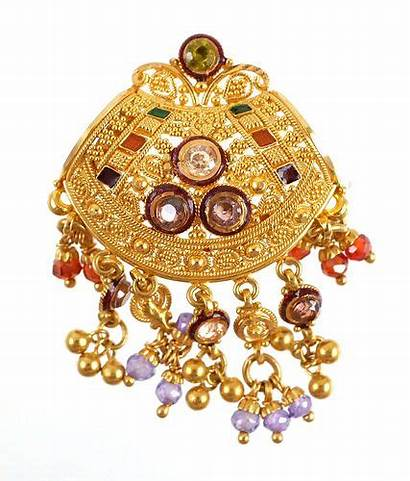 Eastern Middle Jeweled 22k Pendant Bidsquare Lot