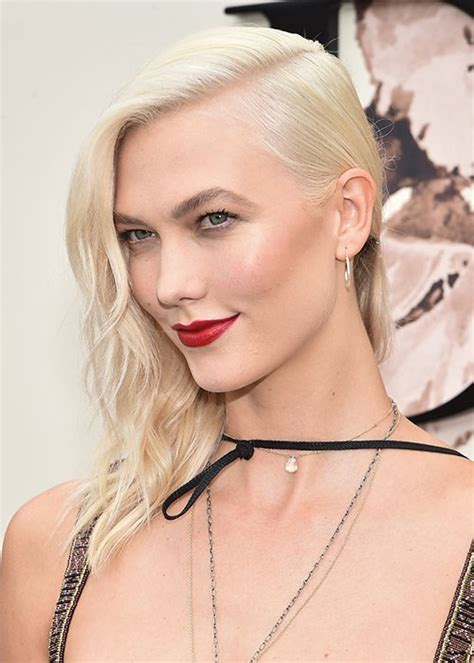 How Copy Karlie Kloss Red Lipstick Makeup Beauty Crew