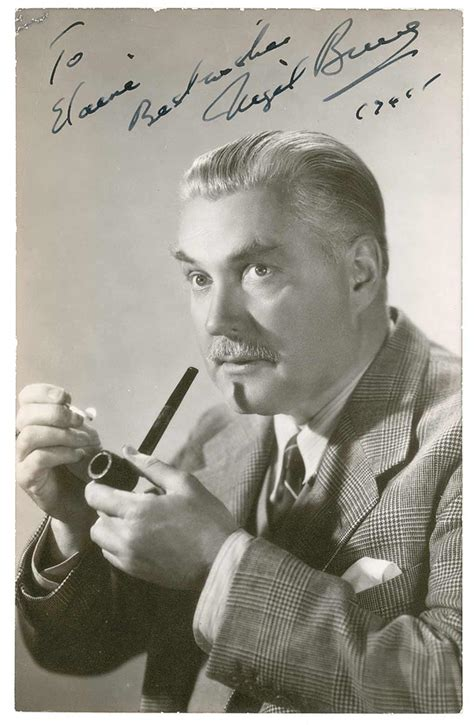 nigel bruce pipe sherlock holmes rathbone basil watson smoking pipes famous dr fumer smokers personnages cigarette litteraires acteurs baker tube