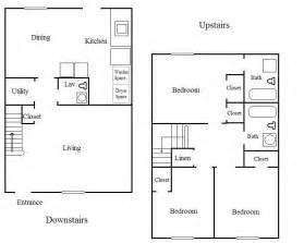 3 bedroom 2 bathroom 3 bedroom 2 bath floor plans marceladick