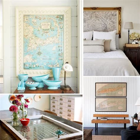 Decorating With Maps Photos Popsugar Home
