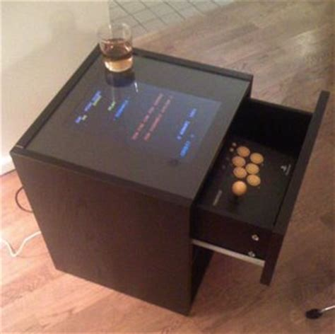 Diy Arcade Cabinet Raspberry Pi by Turn Your Broken Laptop Into An Arcade Cocktail Cabinet