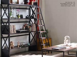 Industrial Style Living Room - Industrial - Los Angeles