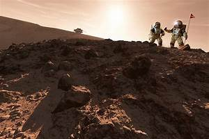 Usa-china Exploration Of Mars, Artwork Photograph by ...