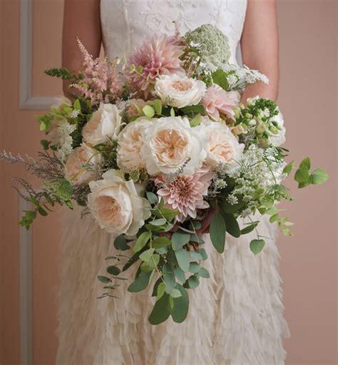 breath  bridal bouquets featuring david austin