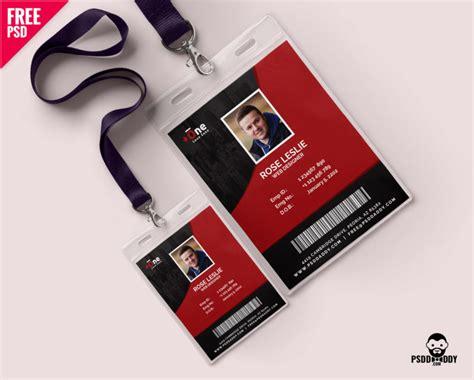 downloadfree office photo identity card psd psddaddycom
