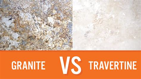 Vs Granite by Granite Vs Travertine Countertops