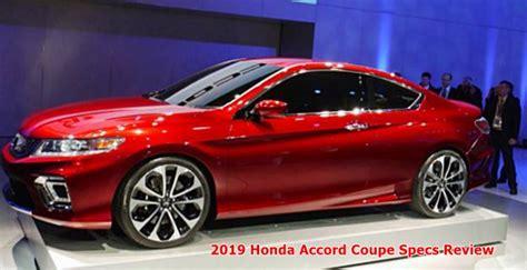 2019 Honda Accord Coupe Specs Review  Auto Honda Rumors