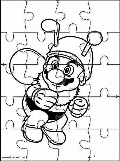 Puzzles Mario Cut Jigsaw Para Rompecabezas Bros