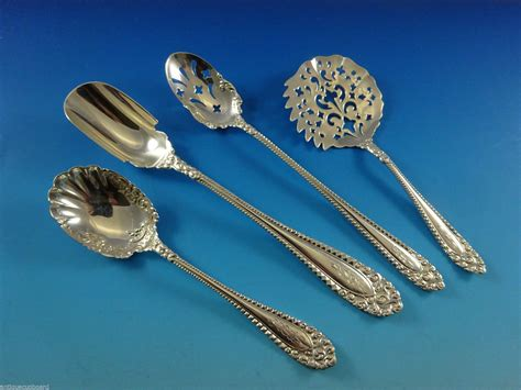 silver international sterling flatware kenilworth pieces huge service larger