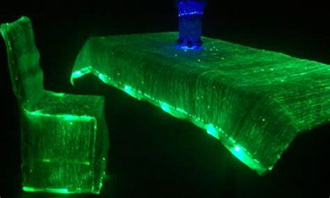 luminous tablecloth and chair cover prom graduation