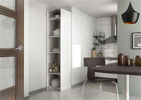armoire colonne cuisine armoire de cuisine sur mesure rangement design pratique