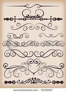 lettering scroll custom pictures to pin on pinterest With scroll letter stencils