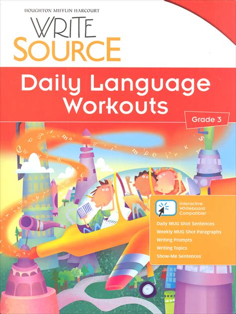 Write Source (2012 Edition) Grade 3 Daily Language Workouts (026257) Details  Rainbow Resource