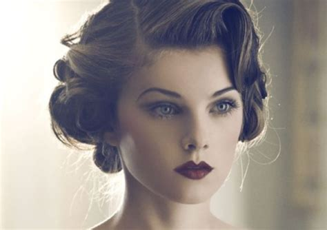 Vintage Hairstyles and Retro Hair Looks For Women 2018