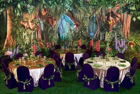 enchanted forest party theme ideas oosile