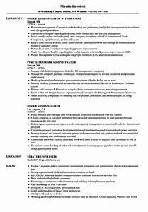 Customer Relation Manager Resume Order Administrator Resume Samples Velvet Jobs