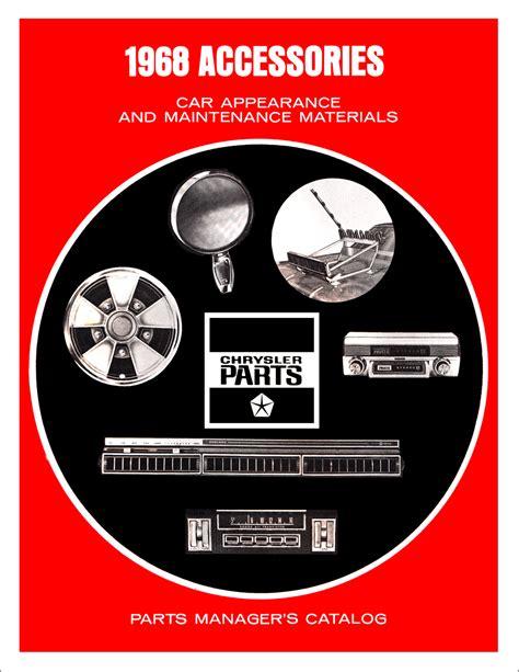 Dodge Charger Coronet Dart Repair Shop Manual Reprint