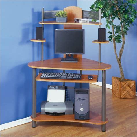 Studio Rta Eagle Compact Corner Wood Computer Desk In