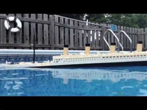 titanic sinking animation pitch black titanic sinking model how to save money and do it yourself