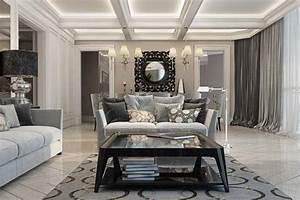 Luxury living room by Yodezeen