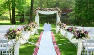 inexpensive outdoor wedding venues nj garden wedding trends wedding planning