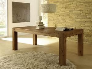 Massivholz Tisch : tisch roma massivholz esstisch akazie esszimmer ebay ~ Pilothousefishingboats.com Haus und Dekorationen