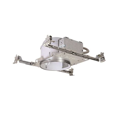 halo shallow can lights halo h27 6 in steel recessed lighting housing for new