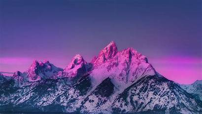Mountain Sky Sunset Nature Awesome Mother Papers
