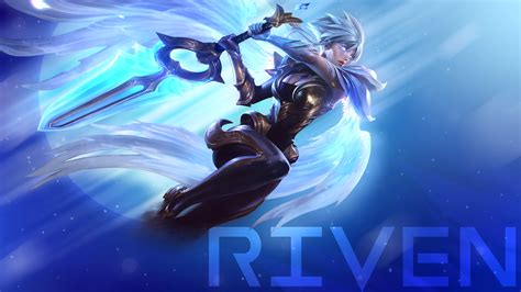 Chionship Riven Animated Wallpaper - dawnbringer riven wallpaper by zactheacorn on deviantart