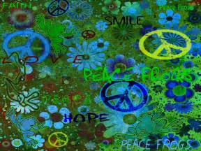 Peace Frogs Wallpaper Free Download