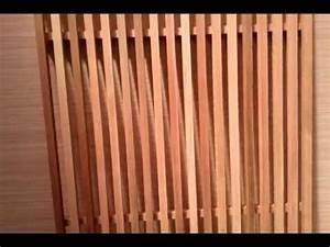 Bardage Claire Voie Horizontal : bardage red cedar pose claire voie verticale youtube ~ Carolinahurricanesstore.com Idées de Décoration