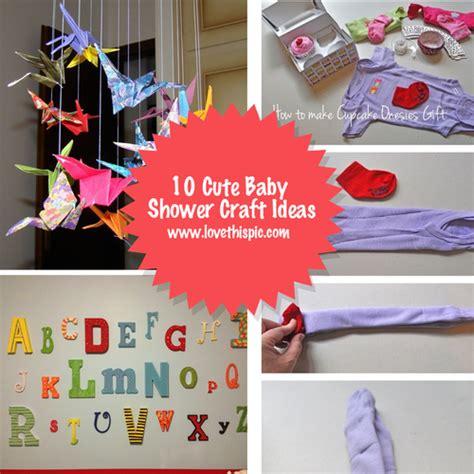 baby craft ideas 10 baby shower craft ideas 5923