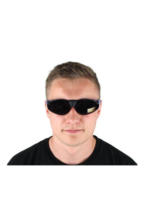 Black Tinted Safety Glasses SPECPROTSUN SE2327