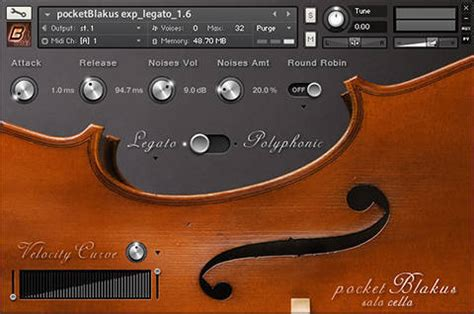 pocketblakus  cello updated  gui  improved