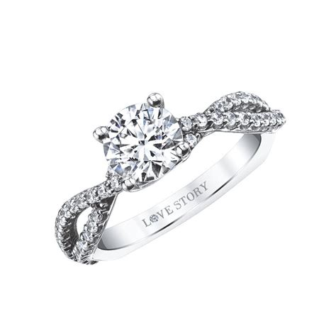 love story diamonds infinity engagement ring by love story