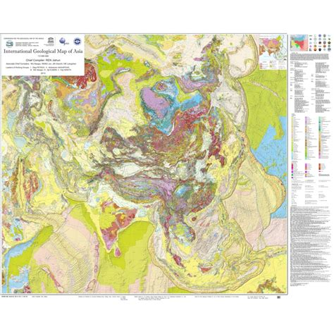 international geological map  asia    igma