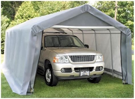 portable garage home depot lowe s portable garage building review portable car