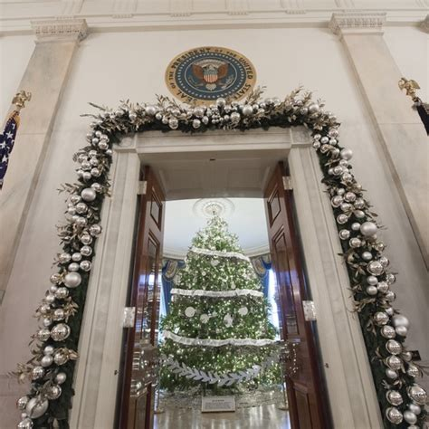 white house christmas tree  officially arrived