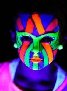 Glow Face Paint on Pinterest