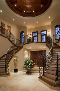 15, Extremely, Luxury, Entry, Hall, Designs, With, Stairs