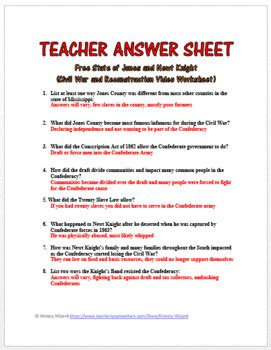 Colonization To Reconstruction Worksheet Answers  Kidz Activities