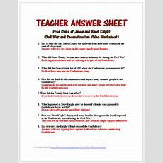 Presidential Reconstruction Worksheet Answers  Geotwitter Kids Activities