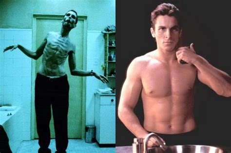 Massive Physical Transformations For Movie Roles